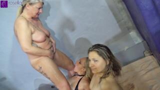 Versaute Piss-Orgie mit 3 Pisse gierigen Milfs! Full Movie / Kamera 2