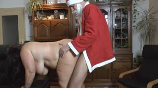 geilen Weihnachtsmann vernascht