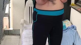 Video SM auf meinem Balkon